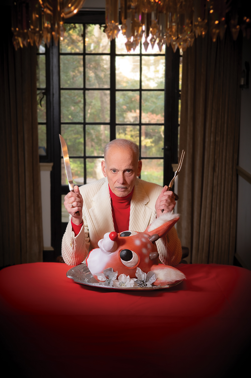 john waters, christmas, gay, metro weekly