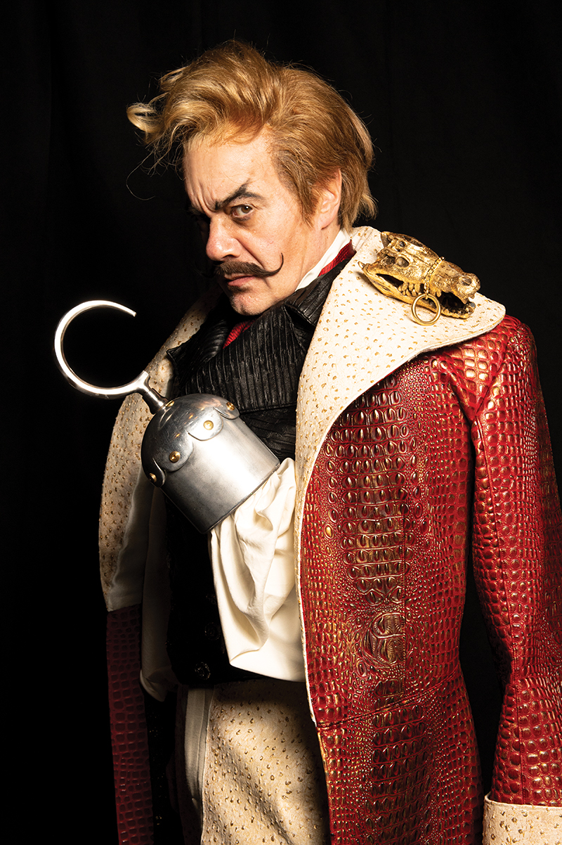 Derek Smith as Captain Hook -- Photo: Todd Franson
