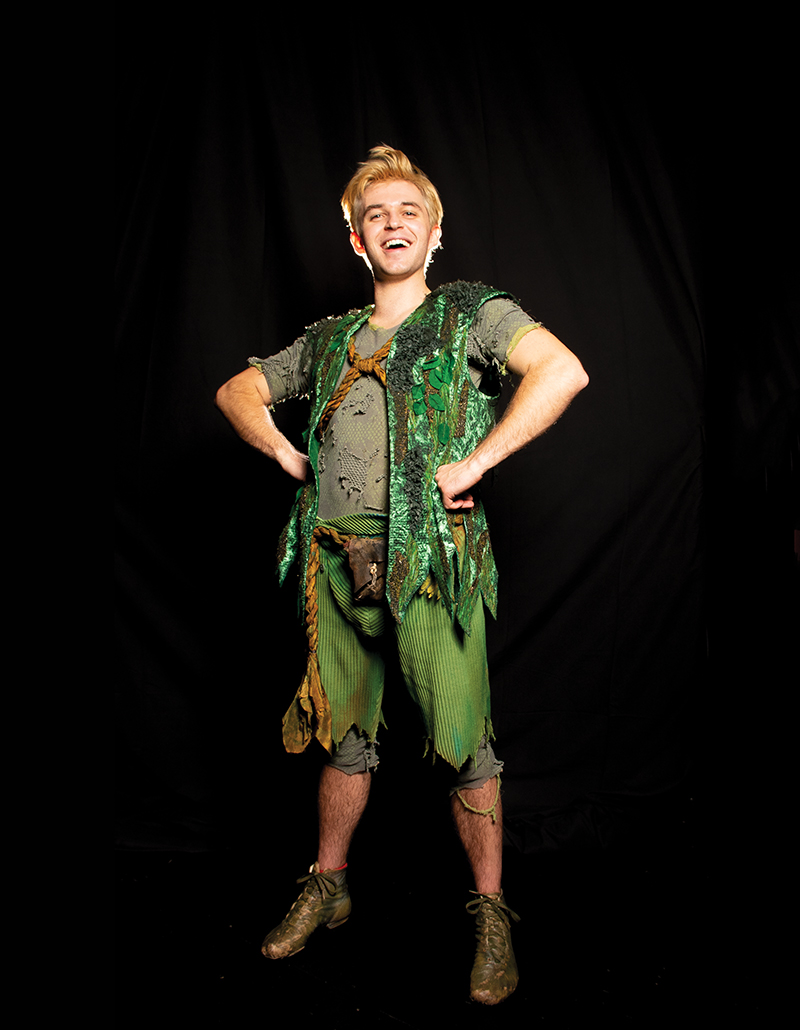 Justin Mark as Peter Pan -- Photo: Todd Franson
