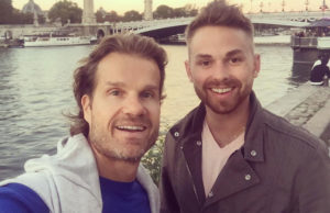 louis van amstel, josh, gay, couple, dwts, metro weekly