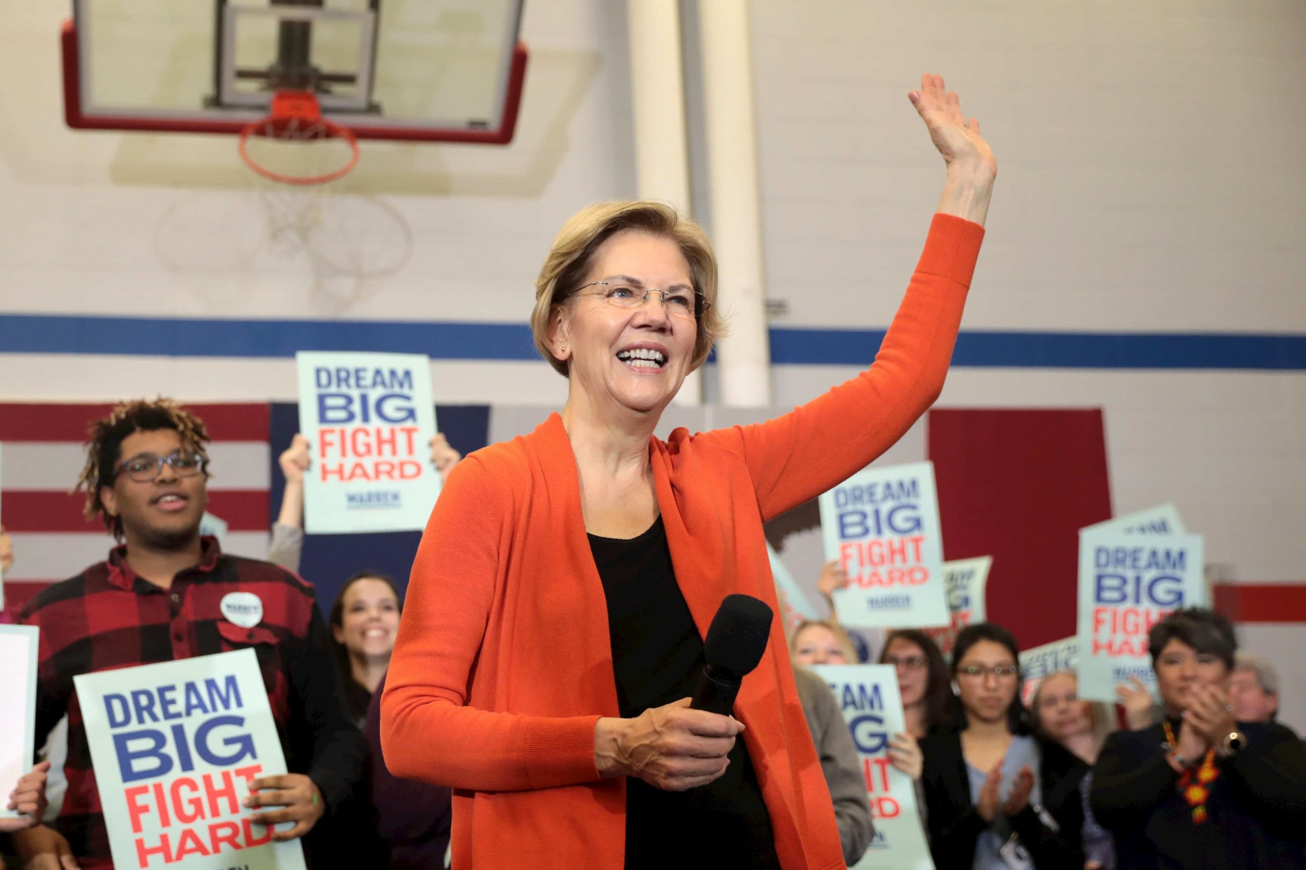 Elizabeth Warren, trans, athletes