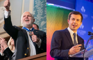Rush Limbaugh, Pete Buttigieg, president, trump, gay