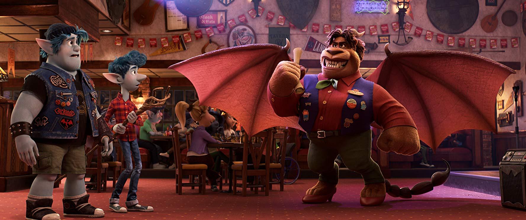 Onward, Pixar, Disney