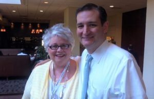 sue evenwel, log cabin, ted cruz