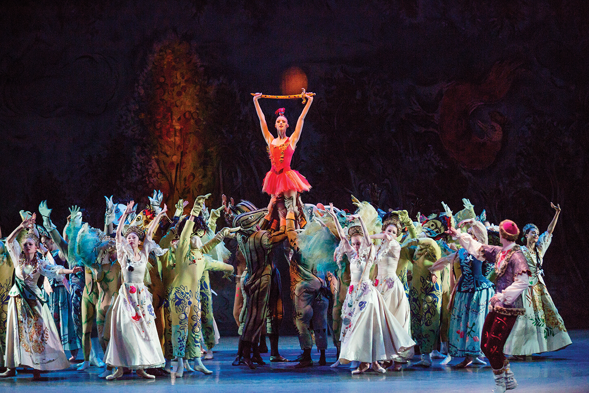 NYCB's Firebird at the Kennedy Center Photo -- Photo: Paul Kolnik