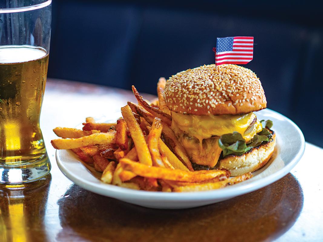 Clyde's Cheeseburger