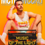 Bright Light x2 Cover of Metro Weekly April 30 2020