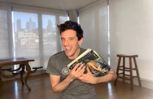 michael urie, buyer and cellar, benefit, performance, covid-19