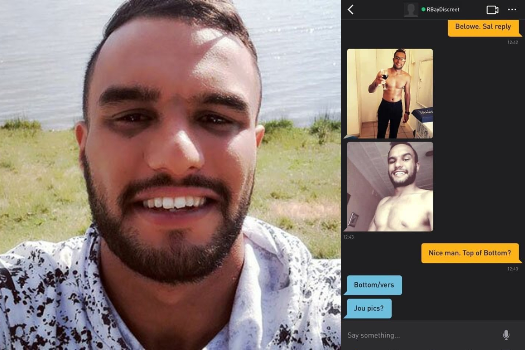christiaan otto, south africa, gay, grindr