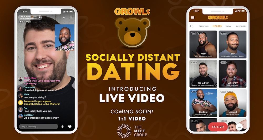 GROWLr to launch Live Video Dating features