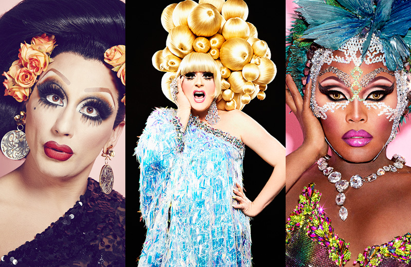 "Bianca Del Rio and Lady Bunny co-host ""the largest drag show on earth"""