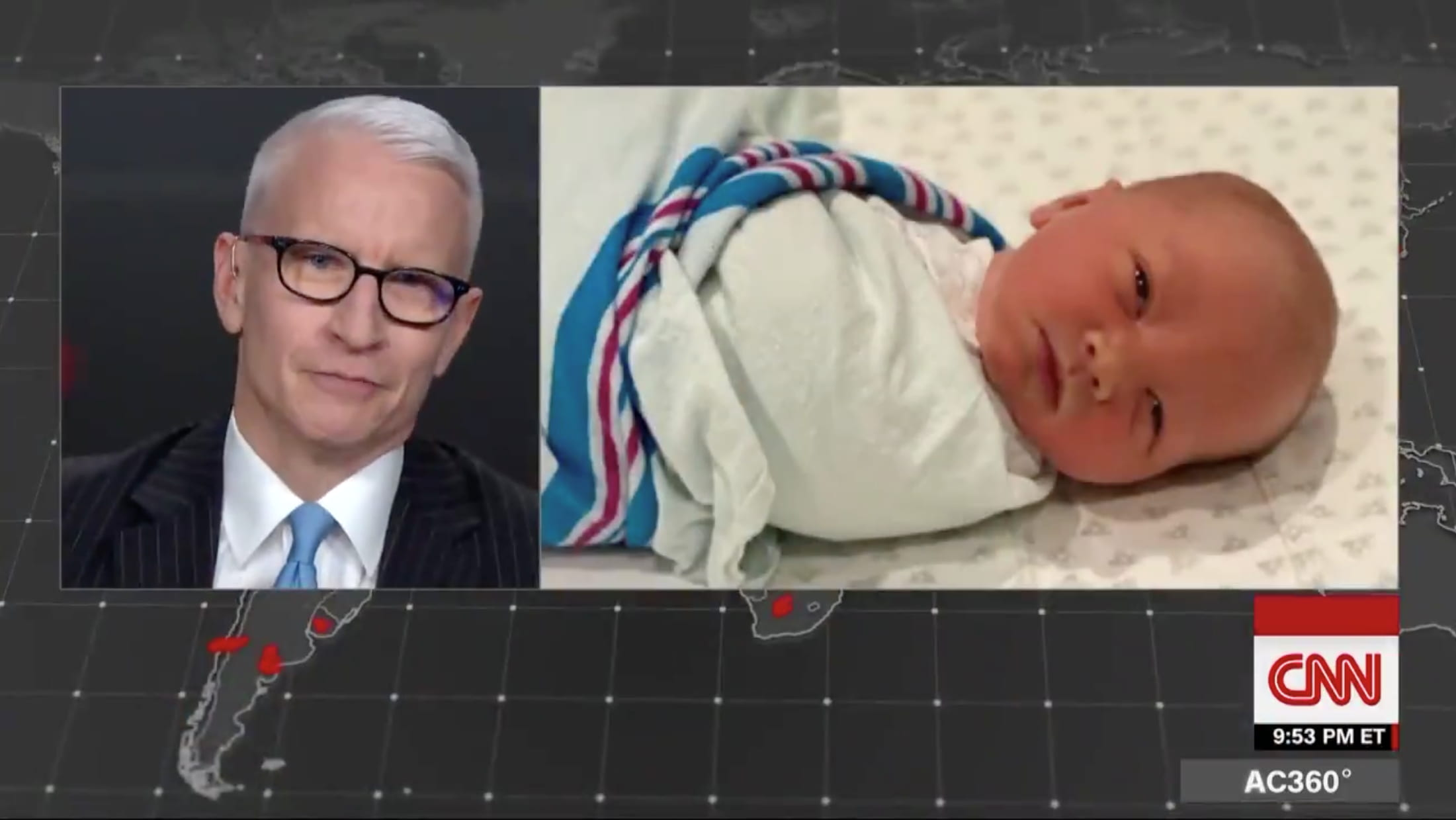 anderson cooper, daddy, son, gay