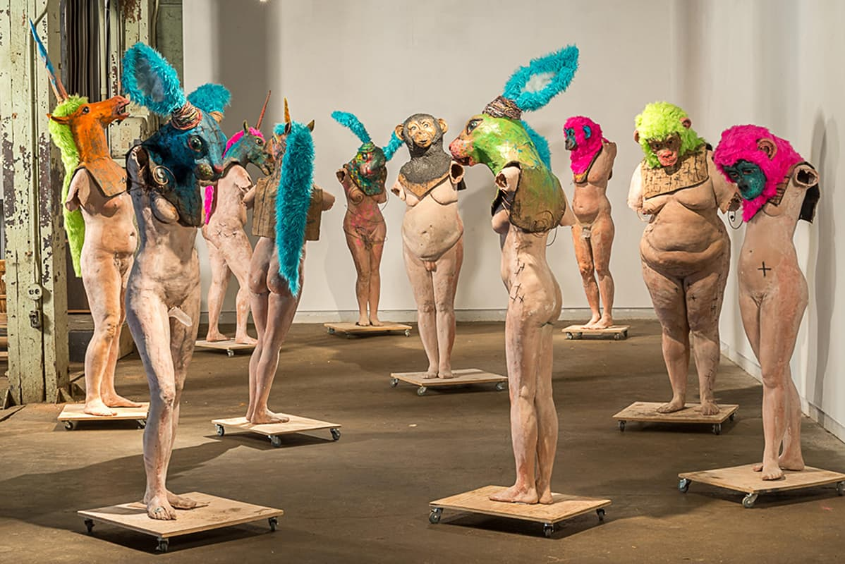 naked truth, gallery, art