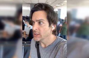 brandon straka, american airlines, gay, trump, mask, plane