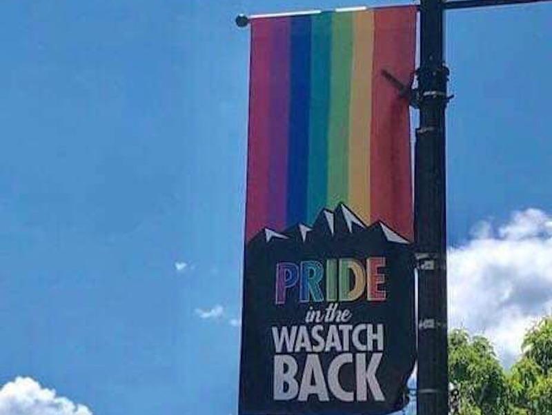 utah, pride, banners