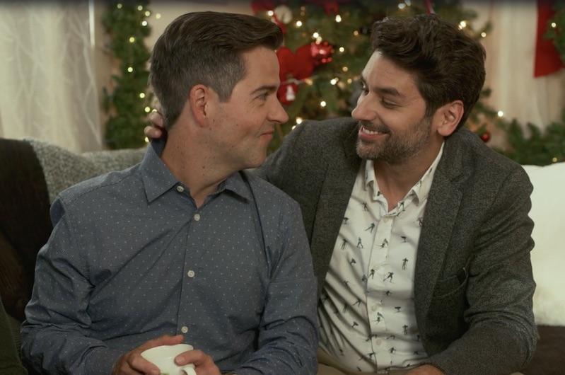 lifetime, christmas, gay, lgbtq, movie, film, holiday