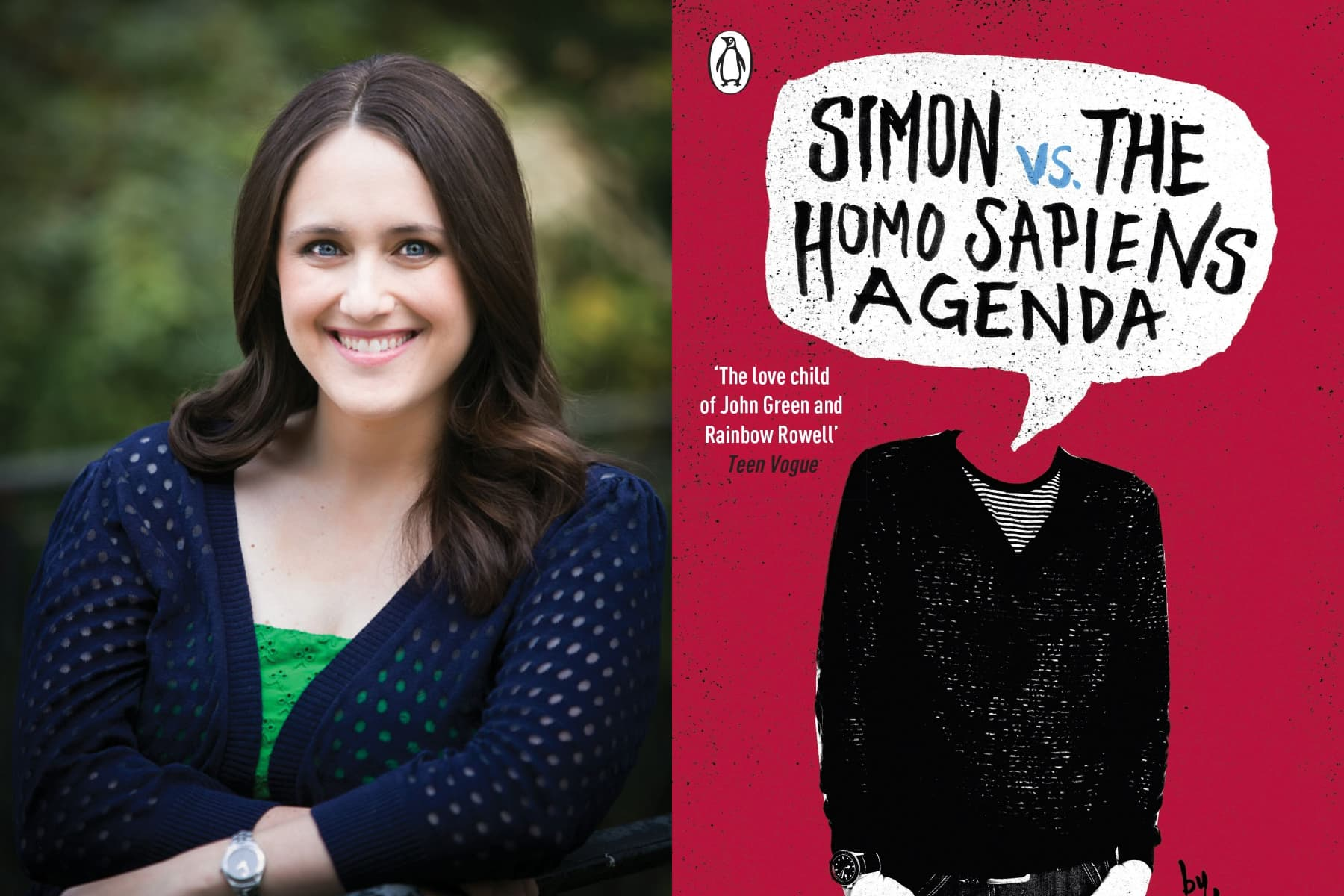 becky albertalli, love simon, simon vs the homo sapiens agenda, bisexual