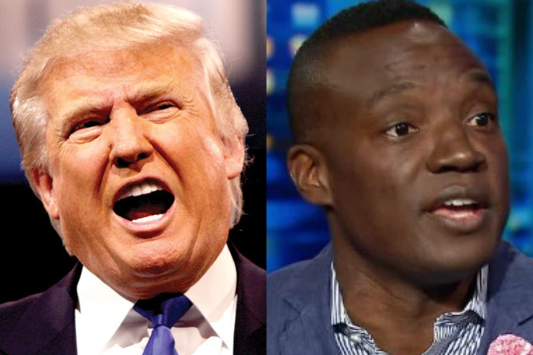 donald trump, kwame jackson, apprentice, gay