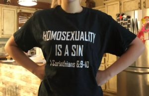 rich penkoski, t-shirt, anti-gay, tennessee, school