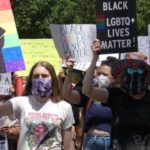 Pride Black Lives Matters Protesters