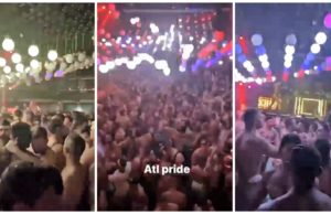 atlanta, pride, party, death, man, covid