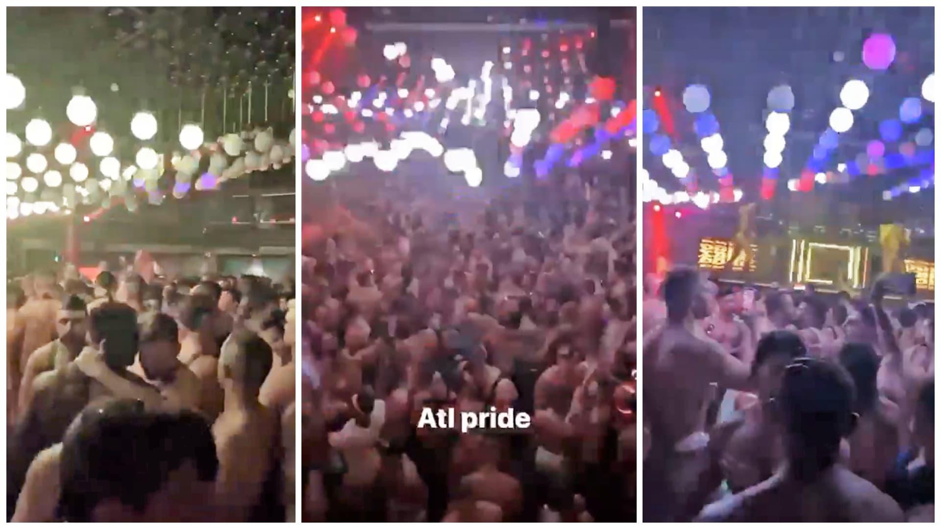 atlanta, pride, party, death, man, covid