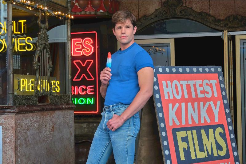 Charlie Carver as Cowboy in The Boys in the Band -- Photo: Scott Everett White / NETFLIX