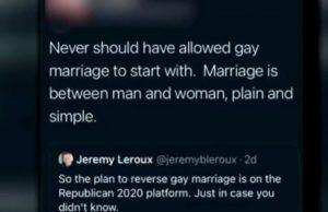 fort zumwalt, marriage, gay, teacher, anti-gay, tweet