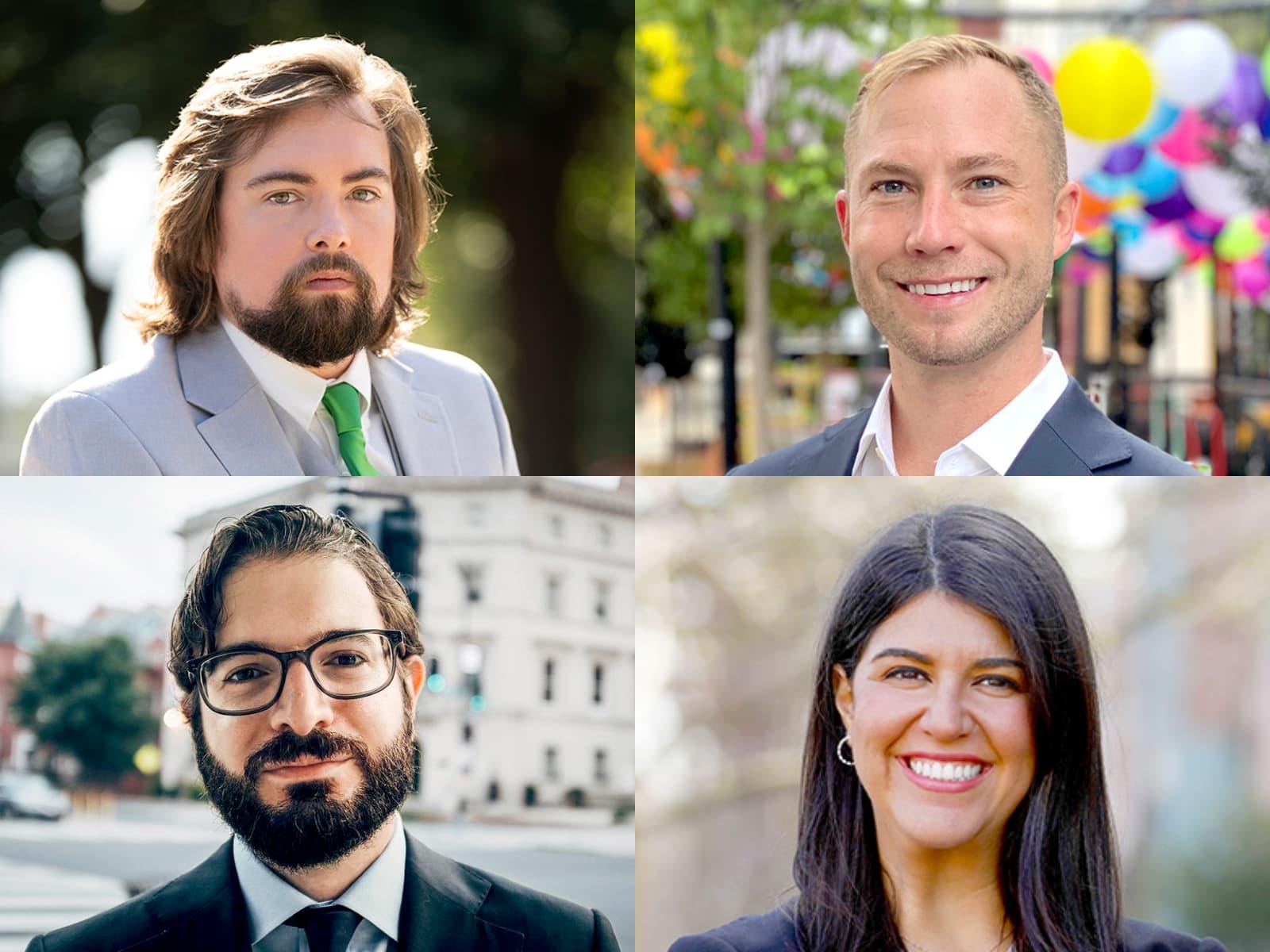 dc, ward 2, Peter Bolton, Randy Downs, Martín Miguel Fernández, Brooke Pinto