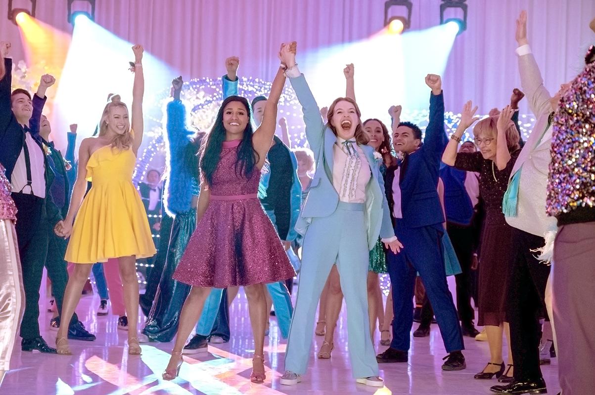 the prom, netflix, queer, lesbian, ariana debose, jo ellen pellman