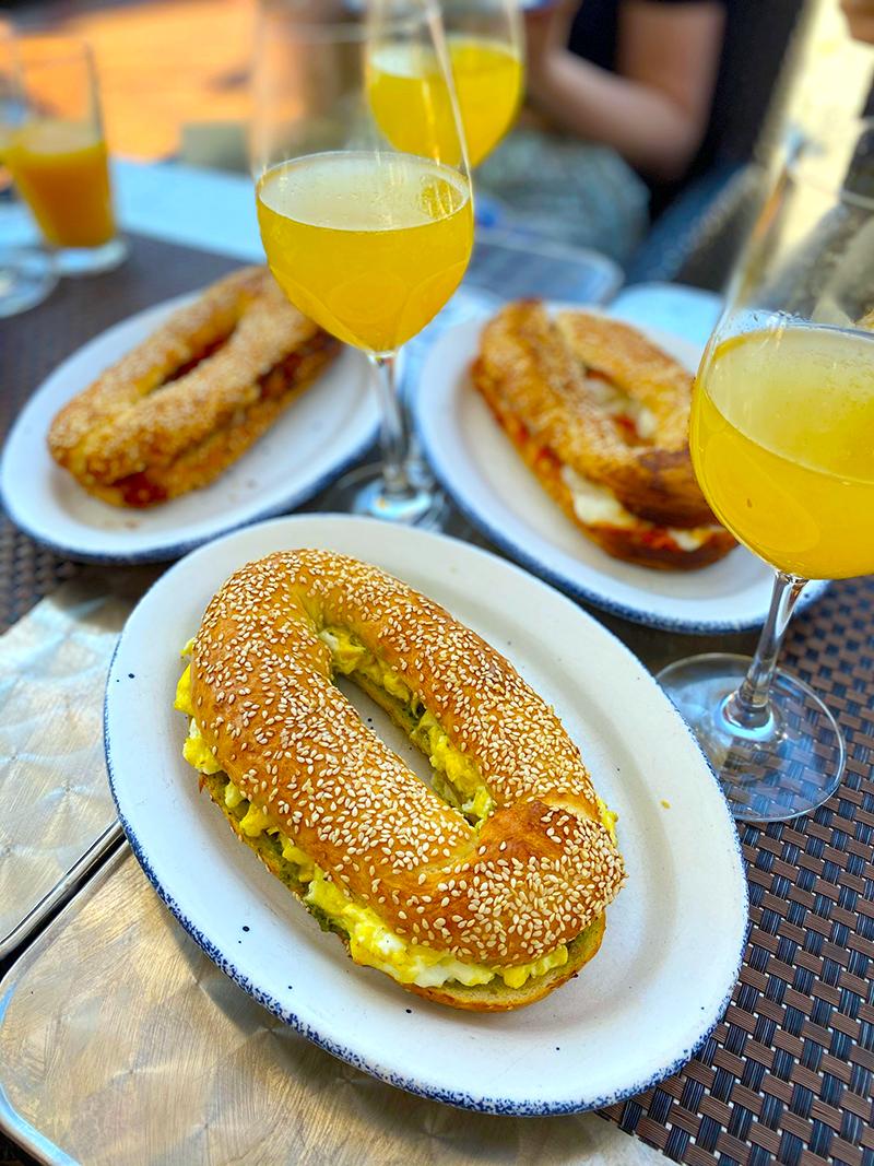 sababa, brunch, jerusalem bagels, food, dc