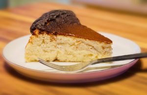 Basque Burnt Cheesecake -- Photo by Craig Bowman