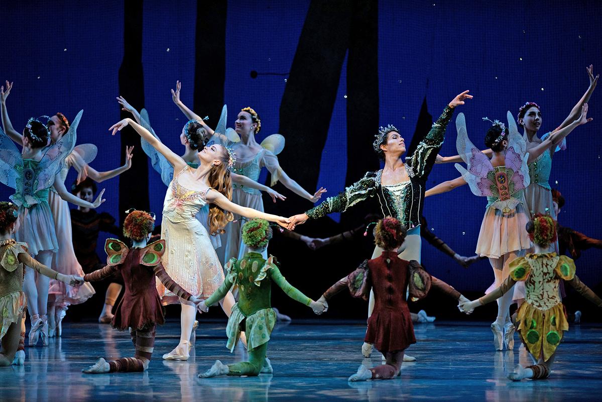 san francisco ballet, a midsummer night's dream