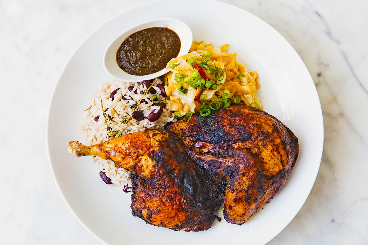 Bammy's jerk chicken, winter restaurant week
