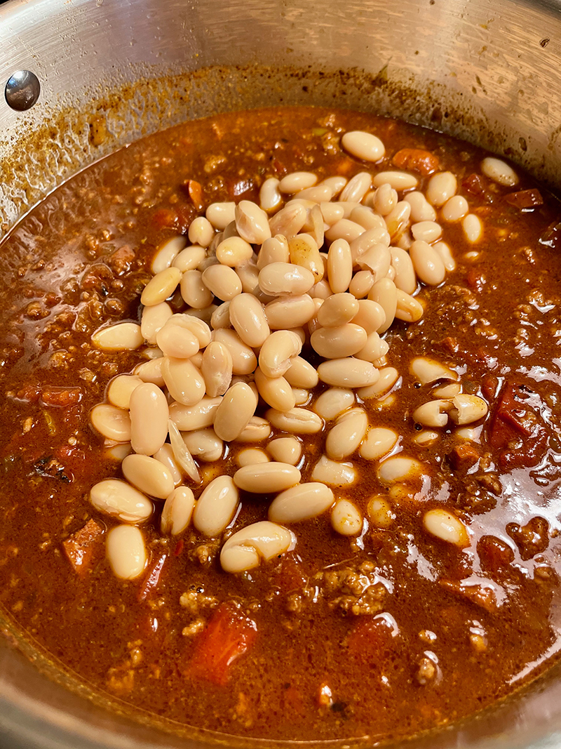beans in chili