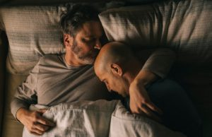 Colin Firth and Stanley Tucci in Supernova