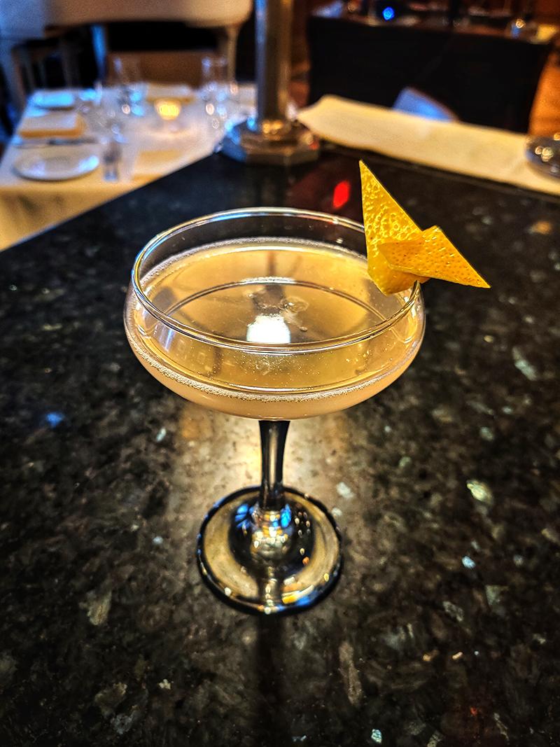 Bombay Club: Celestial Garden Cocktail