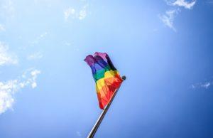 Rainbow LGBTQ Pride flag