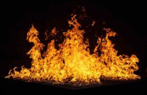 fire, flames