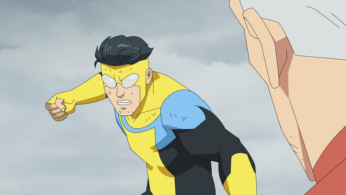 Invincible, amazon, animated, superhero