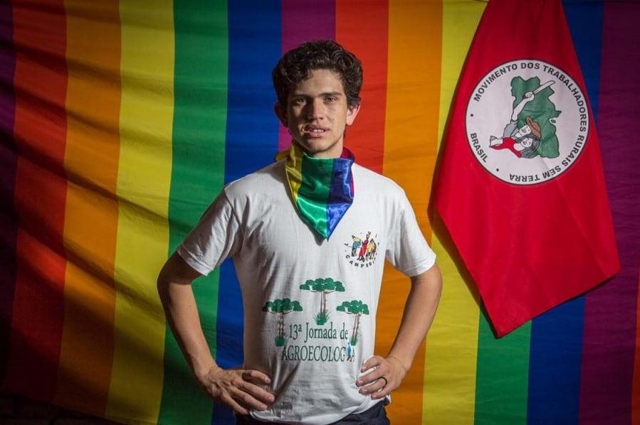 Lindolfo Kosmaski, gay, brazil, teacher, fire, shot, burned