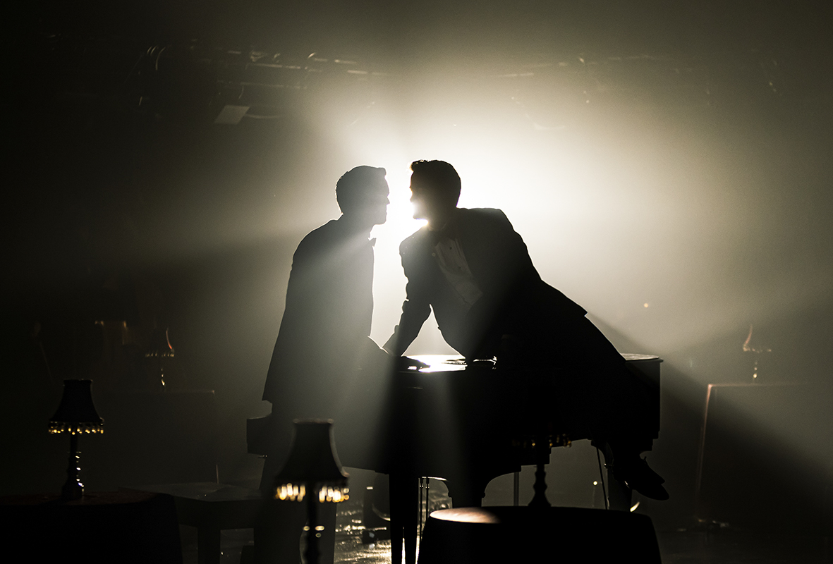 Christian Douglas and Sam Bolen in Midnight at The Never Get -- Photo: Christopher Mueller