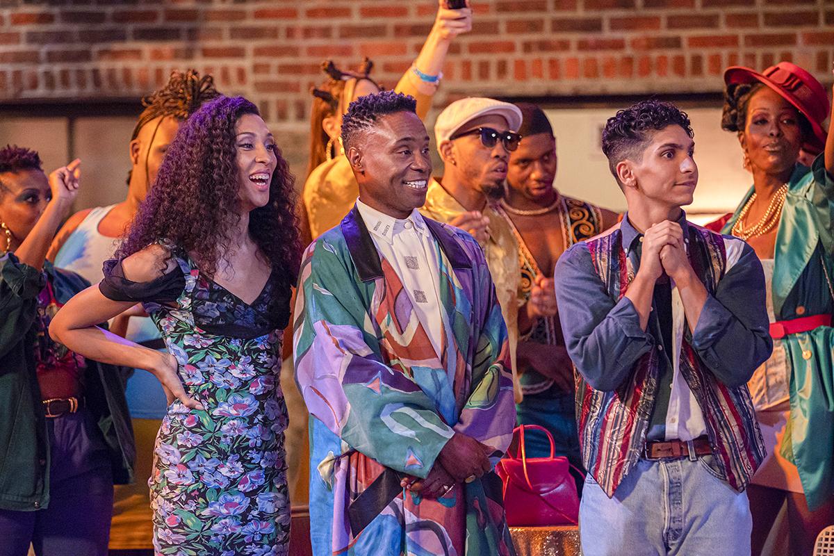 Pose: Mj Rodriguez, Billy Porter, Angel Bismark Curiel -- Photo: Eric Liebowitz/FX
