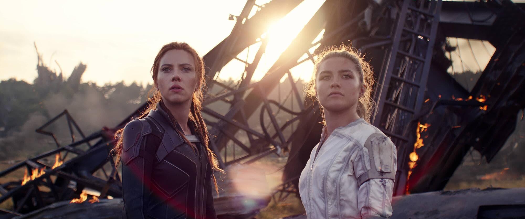Scarlett Johansson, Florence Pugh, Black Widow, Marvel