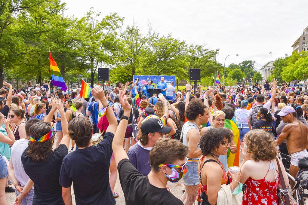 Capital Pride, colorful fest