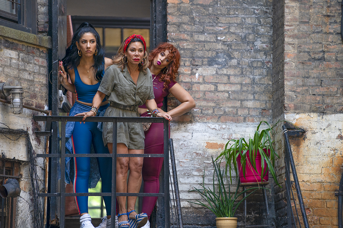 In the Heights: Stephanie Beatriz, Daphne Rubin Vega, Dascha Polanco