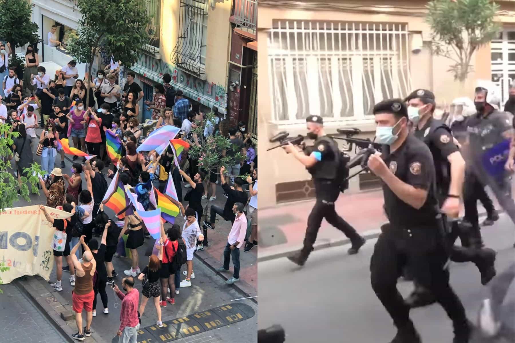 lgbtq, pride parade, istanbul pride