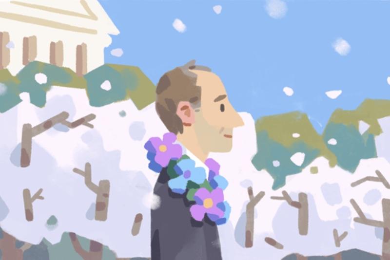 frank kameny, google, doodle