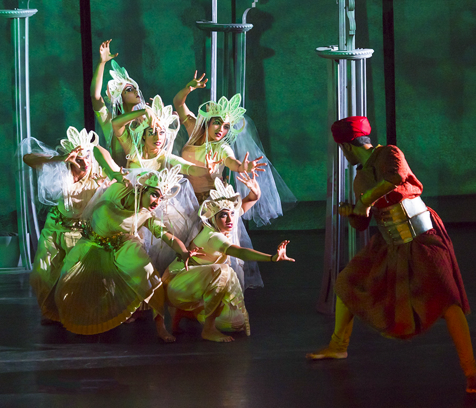 Kalanidhi Dance Company: Opera Lafayette's production of The Enchanted Forest -- Photo: Francesco Giminiani