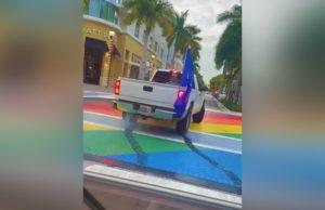rainbow crosswalk, lgbtq, delray beach, Alexander Michael Jerich